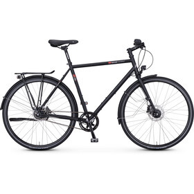 vsf fahrradmanufaktur T-100 Trapez Nexus 8-Gang FL Disc schwarz matt